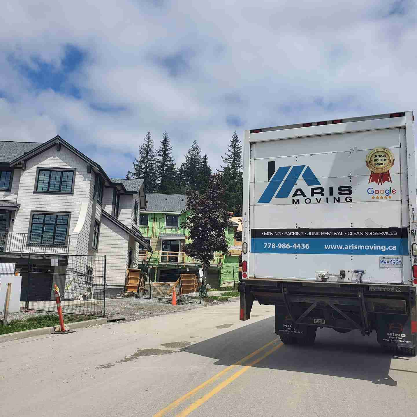 Moving Truck Services Surrey