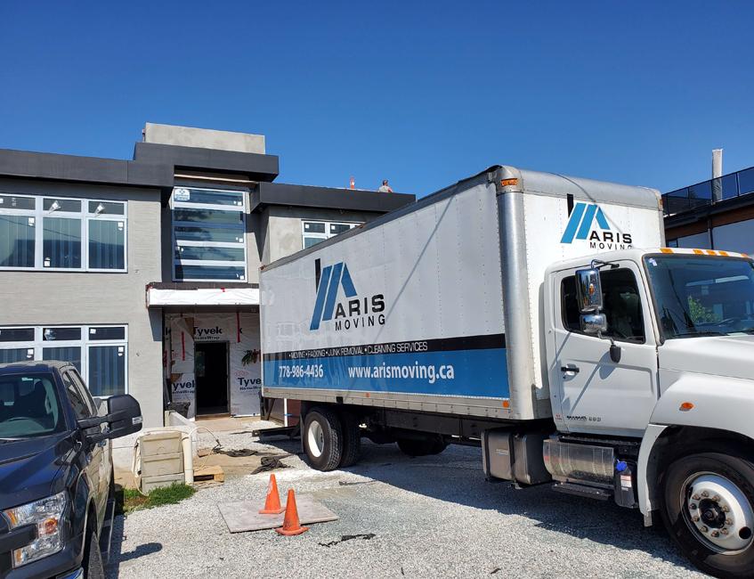 Moving Truck For Senior Citizen