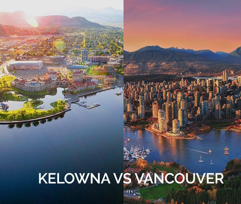 Kelowna Over Vancouver